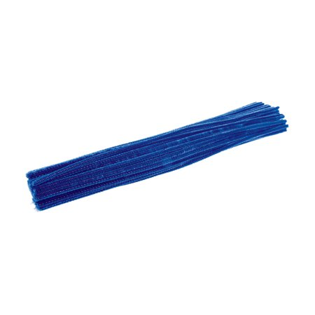 Colorations Pipe Cleaners, Blue - Pack of 100 (Item # IPCBL) - Halloween Spider Craft With Pipe Cleaners