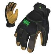 IRONCLAD EXO-MOL-05-XL XL Gray TPR Puller Cuff Mechanics Gloves