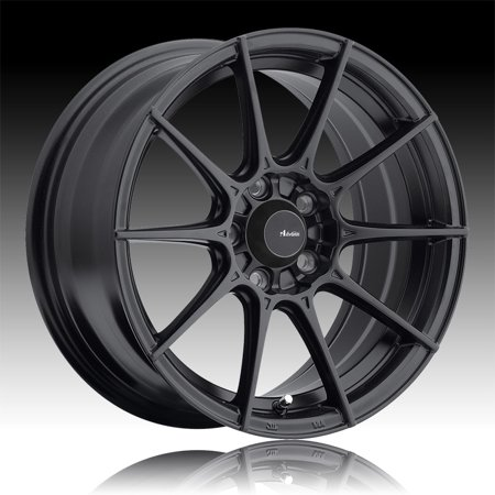 Advanti Racing SM Storm S1 Matte Black 17x8 4x100 45mm (SM78100455) - Auto Racing Supplies