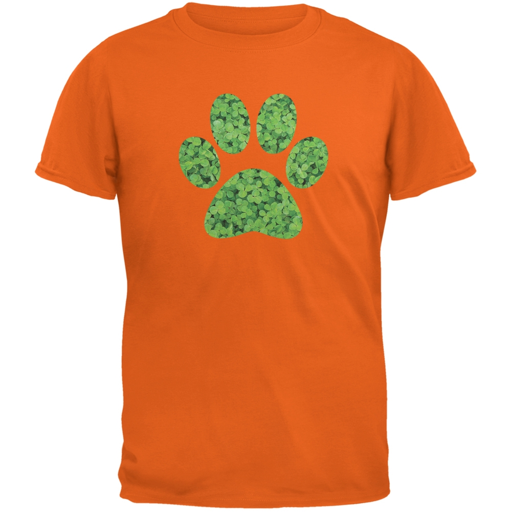 Dog Paw Forest Green Adult Sweatshirt Patricks Day Animal World ST