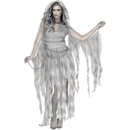 Enchanted Ghost Women's Adult Halloween Costume (Gentleman Ghost Costume)
