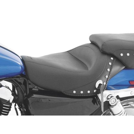 Mustang 76156 Vintage Solo Seat - Chrome Studs
