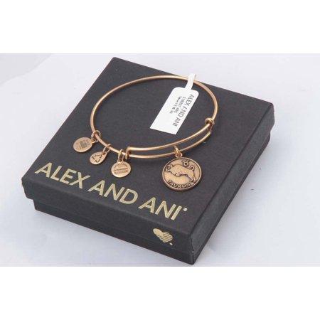 Alex And Ani Taurus Ii Expandable Rafaelian Gold Finish Wire Bangle A13eb01targ