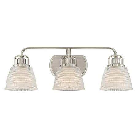 Quoizel Dublin DBN8603BN 3 Light Bathroom Vanity Light ()