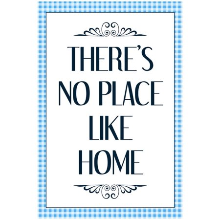 - There's No Place Like Home - Wizard of Oz Poster - 13x19