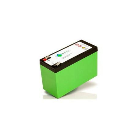 K2 Energy K2B12V7EB 12V 7Ah Lithium Iron Phosphate Battery BMS