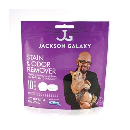 Fizzion jackson galaxy stain and odor remover 10 tablet for Jackson galaxy music