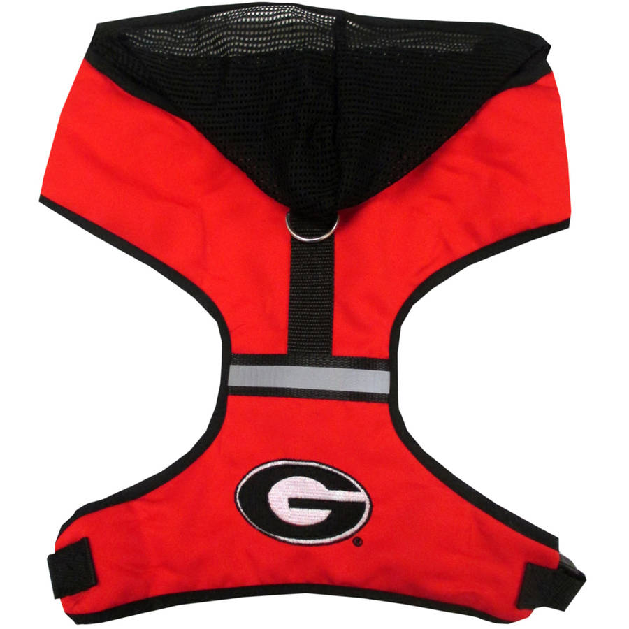 Pets First College Georgia Bulldogs Pet Harness, 3 Sizes Available