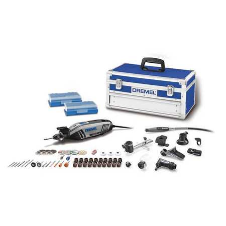 "DREMEL 4300-9/64 Rotary Tool Kit,120V,9"" L,1.2 lb. Weight G8092826"