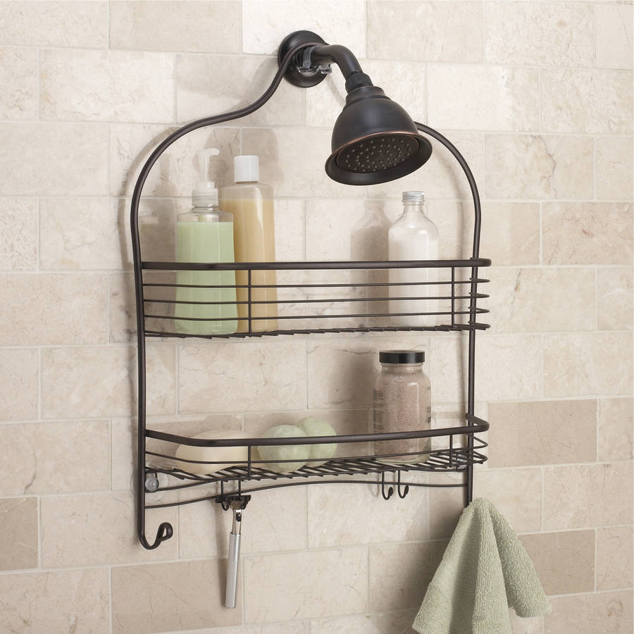 Chapter Wide Shower Caddy, Bronze