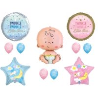 Twinkle Little Star Wonder What You Are Gender Reveal Balloons Decorations