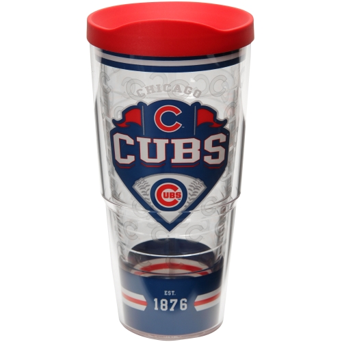 Chicago Cubs Tervis 24oz. Classic Wrap Tumbler with Lid - No Size