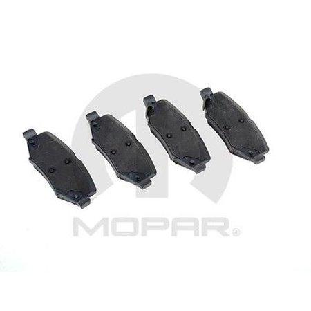 Disc Brake Pad and Hardware Kit Rear MOPAR - Mopar Disc Brakes