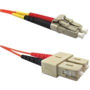 Weltron 3m LC/SC Multi-mode 62.5/125M Orange Fiber Patch Cable - Fiber Optic for Network Device - Patch Cable - 9.84 ft - 2 x - 2 x - Orange