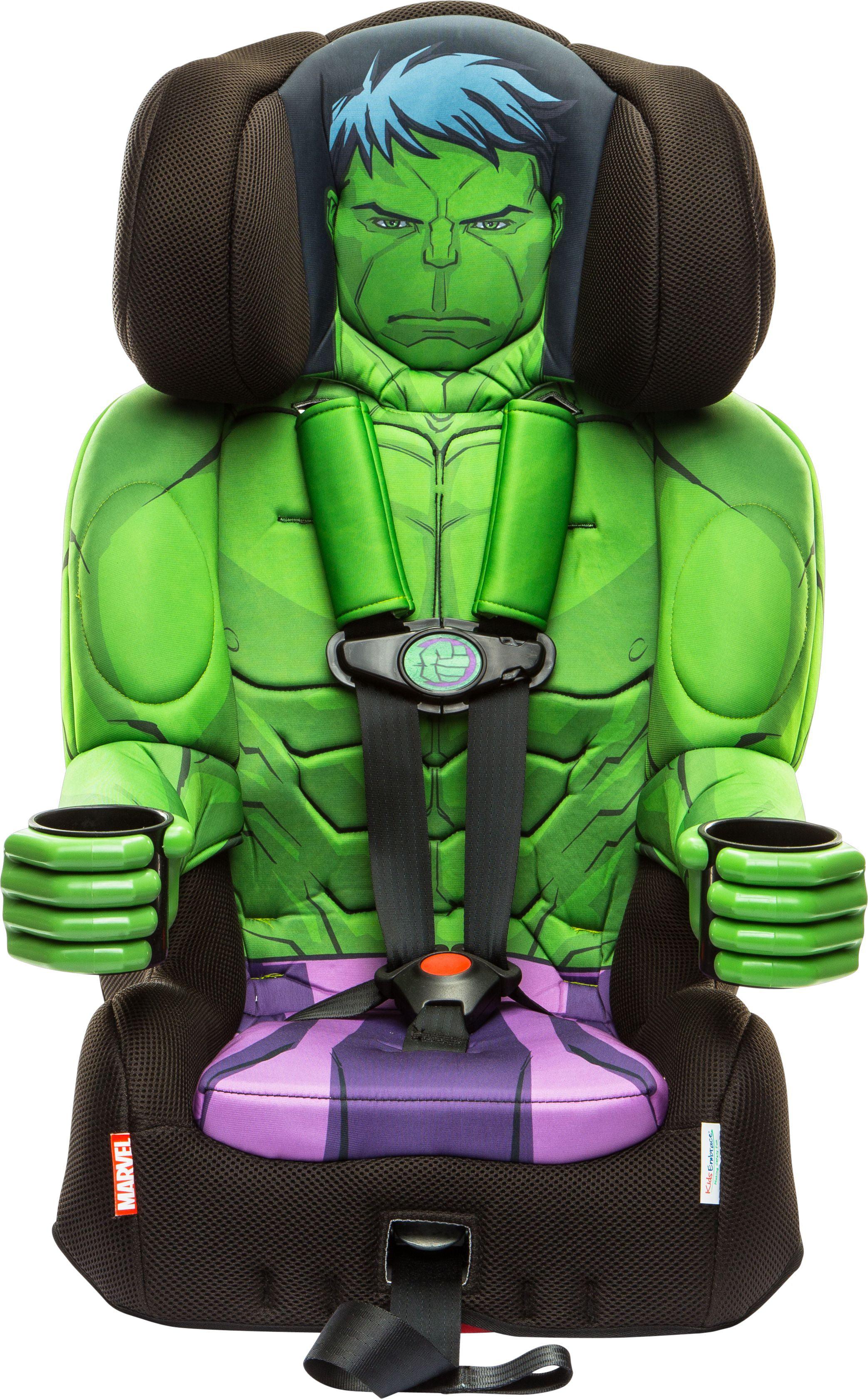 KidsEmbrace Marvel Avengers Incredible Hulk Combination Harness Booster Car Seat by KidsEmbrace