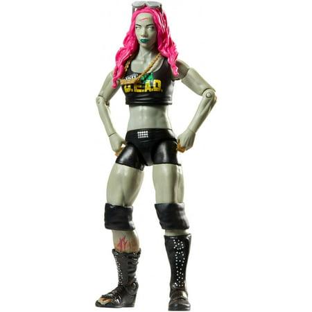 WWE Zombies Sasha Banks Figure](Sasha Banks Theme)