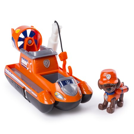 PAW Patrol Ultimate Rescue - Zuma's Ultimate Rescue Hovercraft with Moving Propellers and Rescue Hook, for Ages 3 and Up