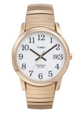 Men's Easy Reader Watch, Gold-Tone Stainless Steel Expansion Band