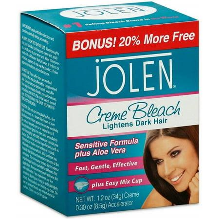 2 Pack - Jolen Creme Bleach Mild Formula Plus Aloe Vera 1/4 oz