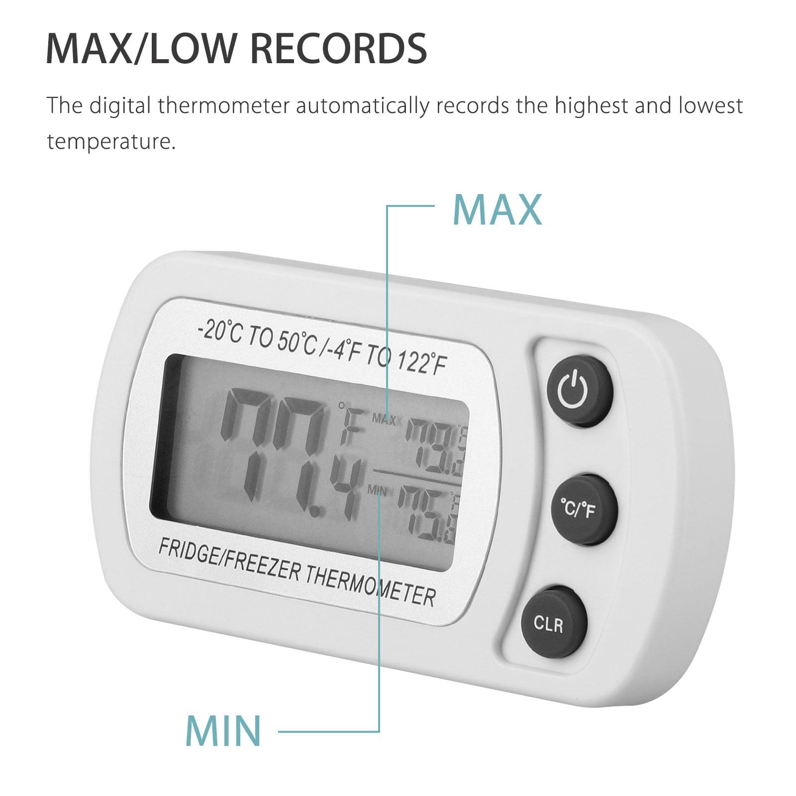 Greenhouse Max-Min Press Thermometer Traditional Temperature Monitor 40 to 50℃