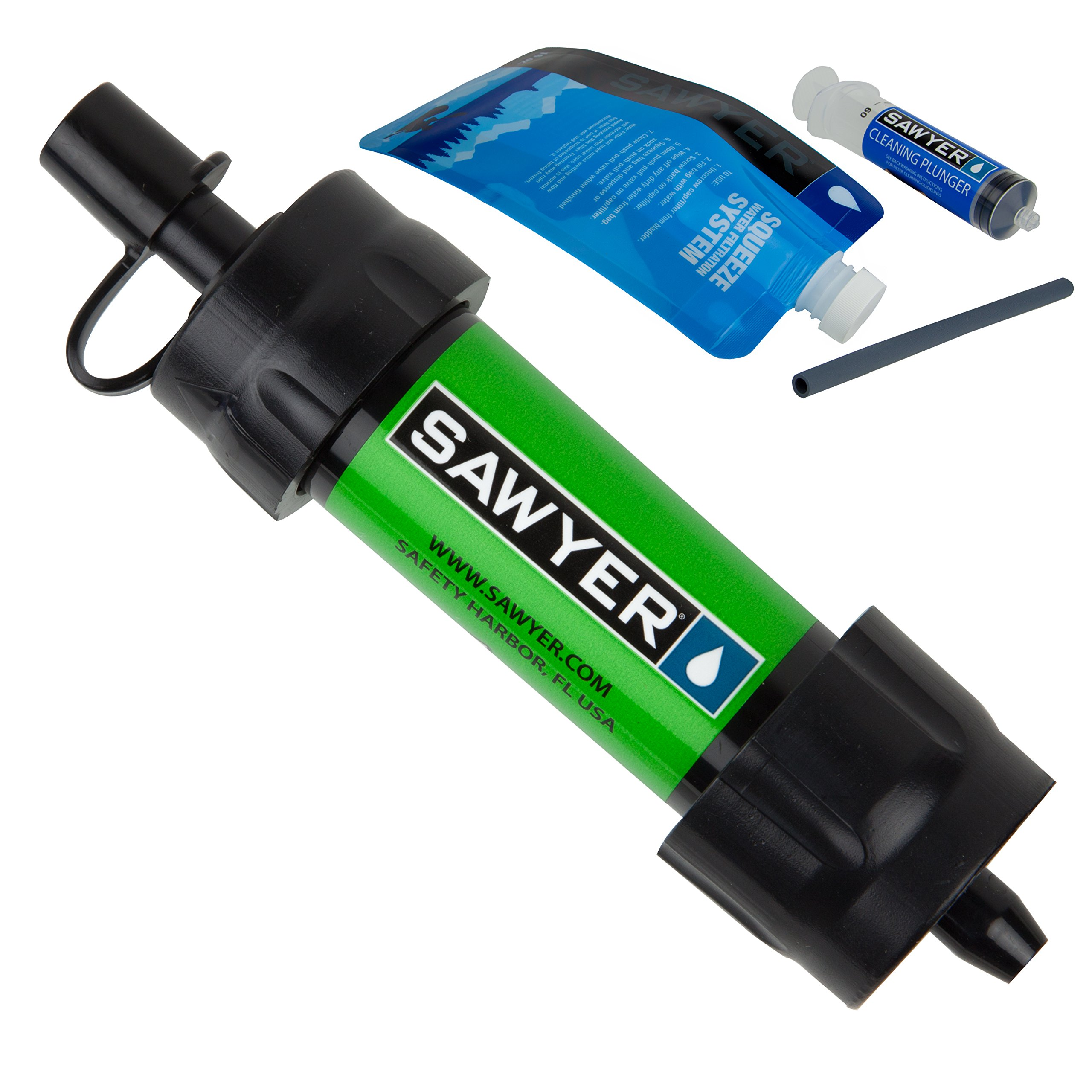 Sawyer Mini Water Filtration System - Green