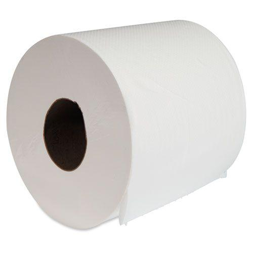 """Center-Pull Hand Towels, 2-Ply, Perforated, 7 7/8"""" x 10"""", 660/Roll, 6 Rolls/Ctn"""
