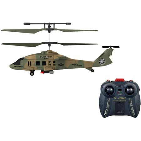 Swift Stream S 202 Remote Control 9  Helicoper Black Hawk