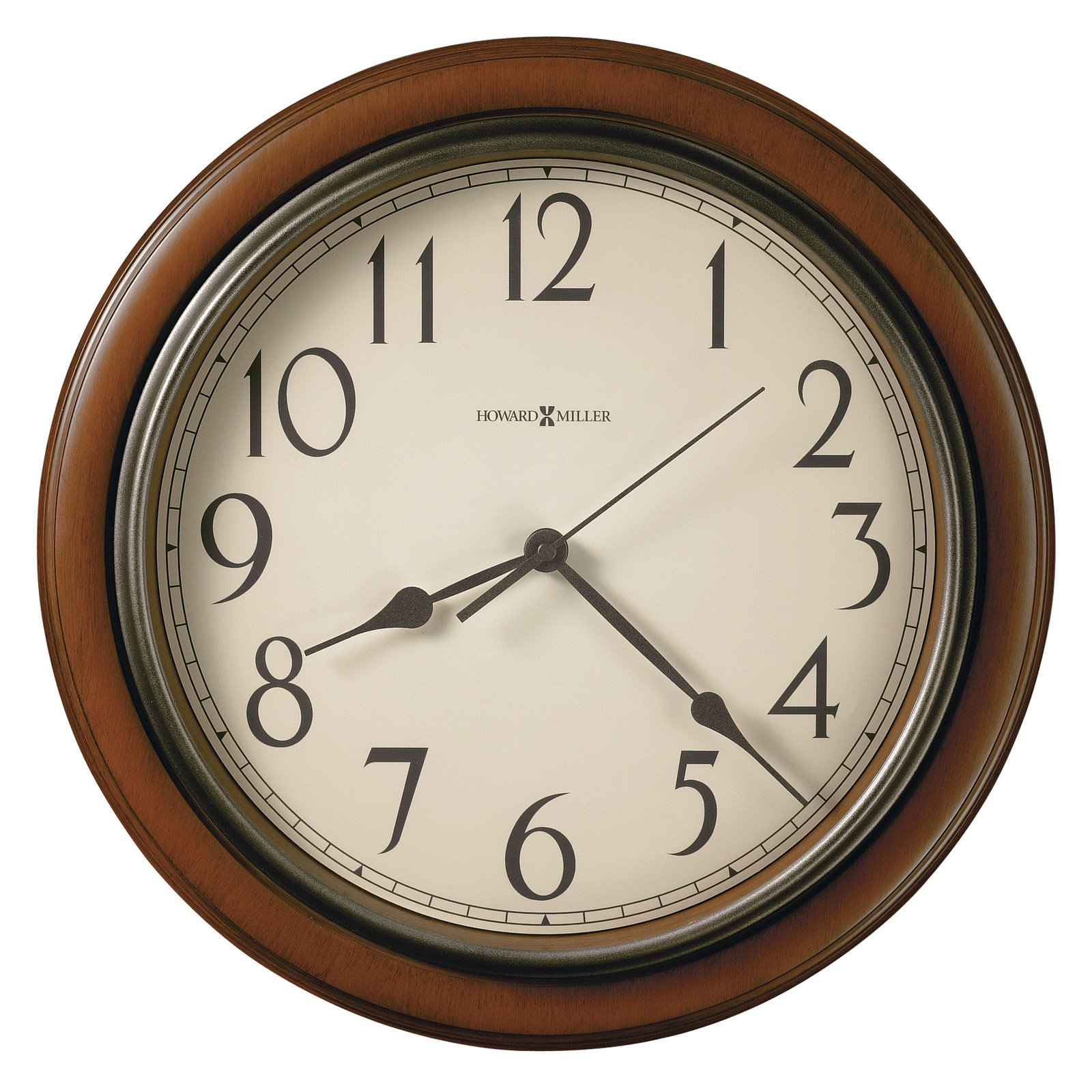 Howard Miller 625-418 Kalvin 15.25 in. Wall Clock by Howard Miller