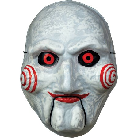 Billy Puppet Vacuform Mask Adult Halloween Accessory