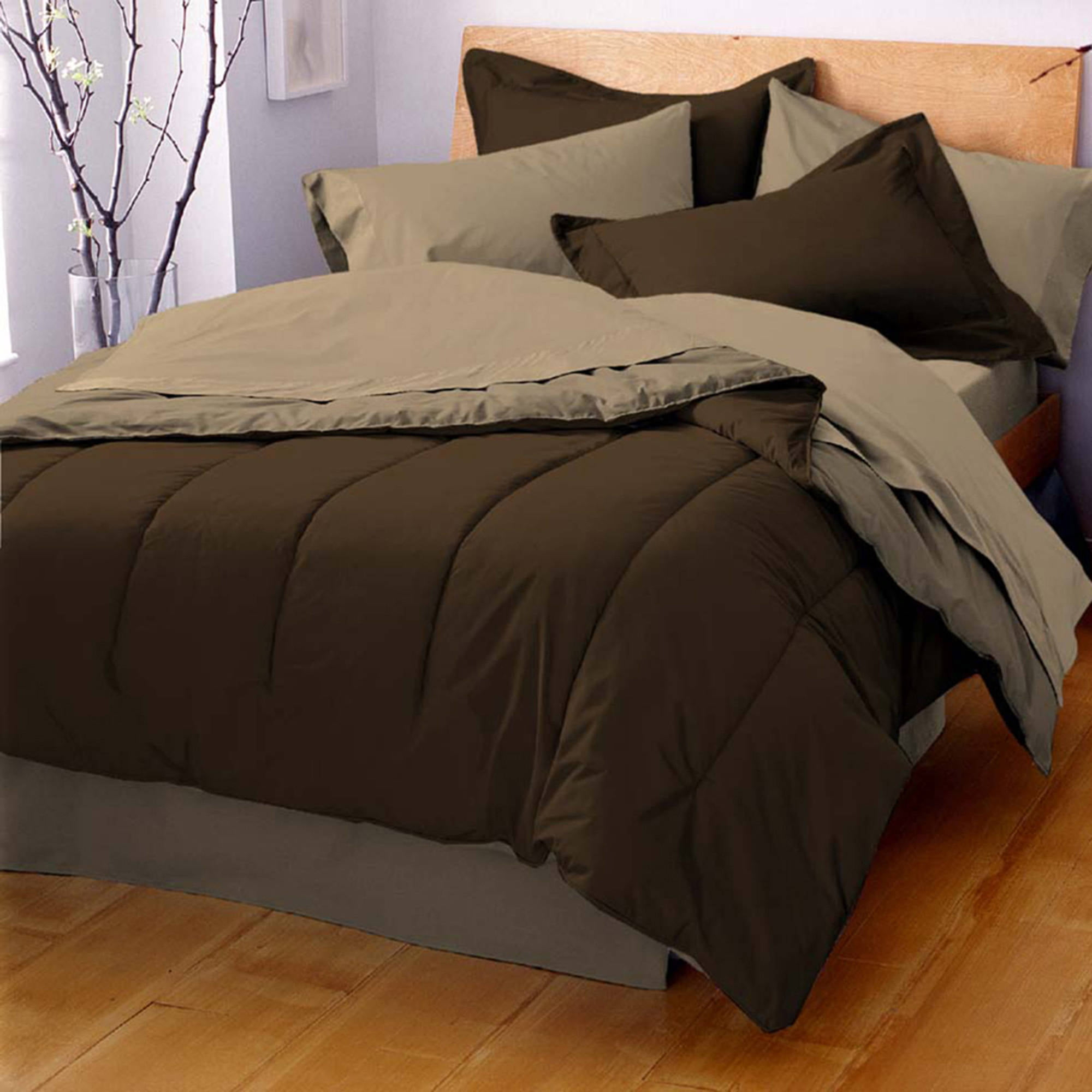 overstock bedskirt bedding bath piece free shipping cotton comforter luna pintuck today included fiesta color product solid set