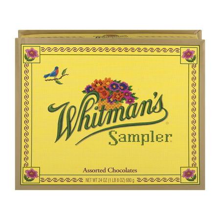 Whitman's Sampler Assorted Chocolates, 24 oz