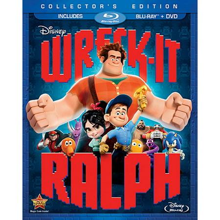 Wreck-It Ralph (Collector's Edition) (Blu-ray + DVD) (Halloween Ii Blu Review)