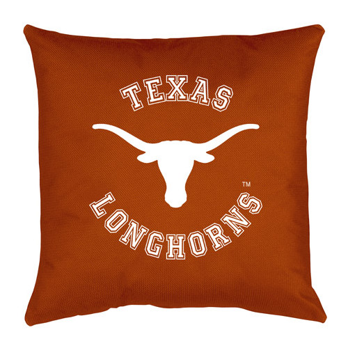 NCAA University of Texas Locker Room Toss Pillow