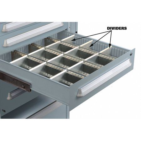 Lyon Modular Drawer Cabinet Divider, For Drawers w/Height (In.) 7   NF240100D8 ()