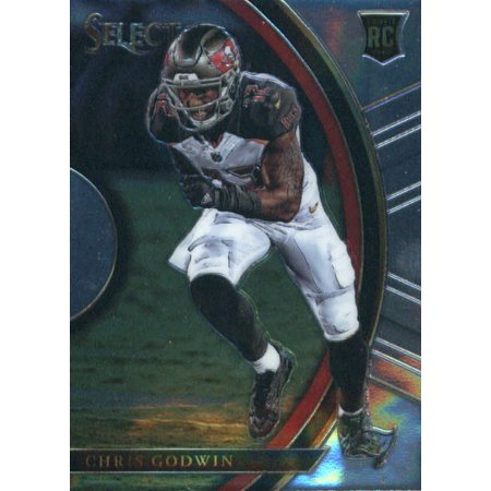 2017 Panini Select #96 Chris Godwin Tampa Bay Buccaneers Rookie Football Card - Halloween Tampa 2017