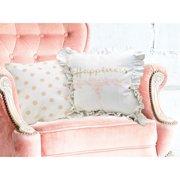 Amrapur Overseas Inc. Shabby 2 Piece Cotton Throw Pillow