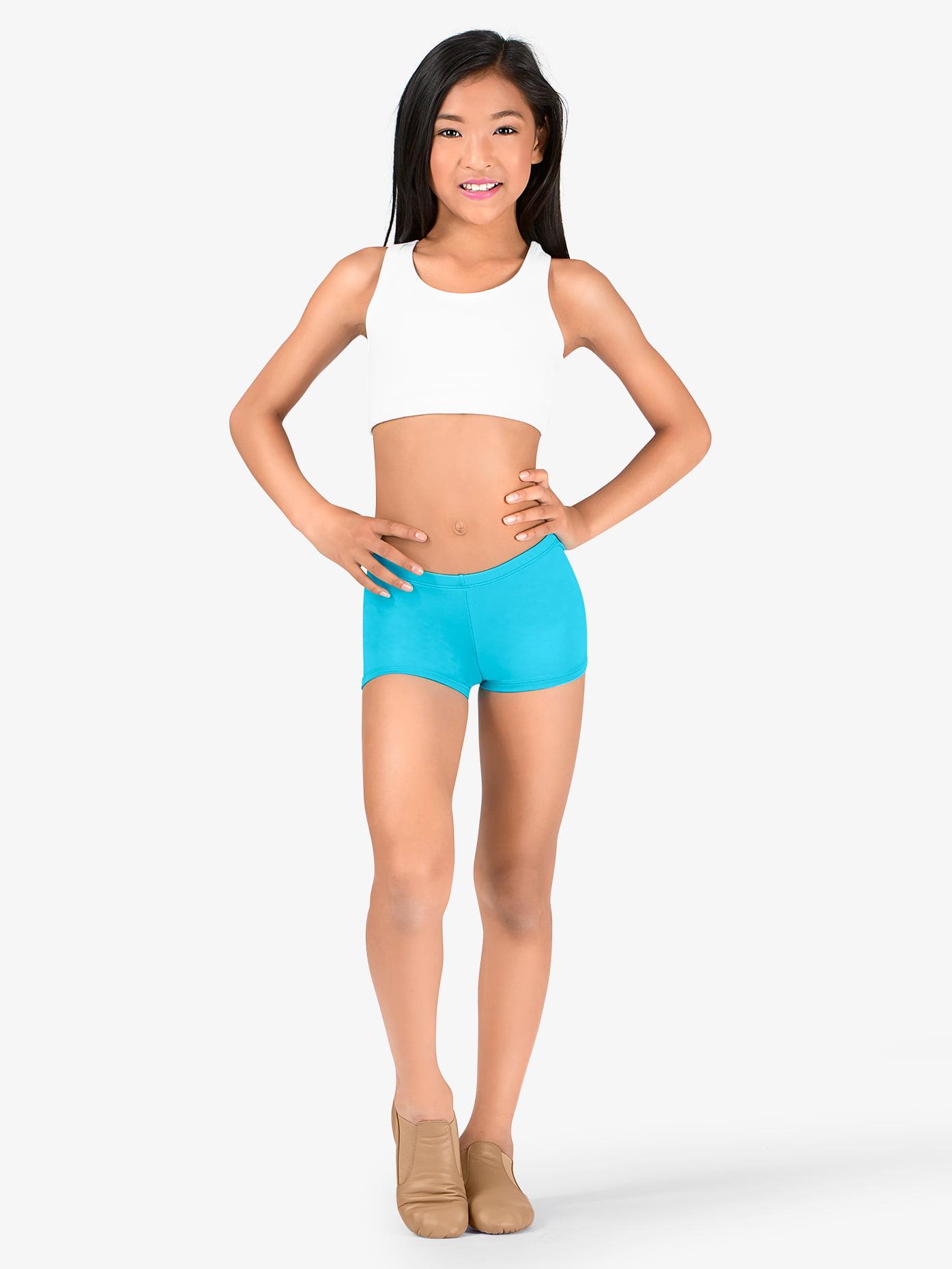 Body Wrappers Prowear Boy-Cut Waistband Shorts []