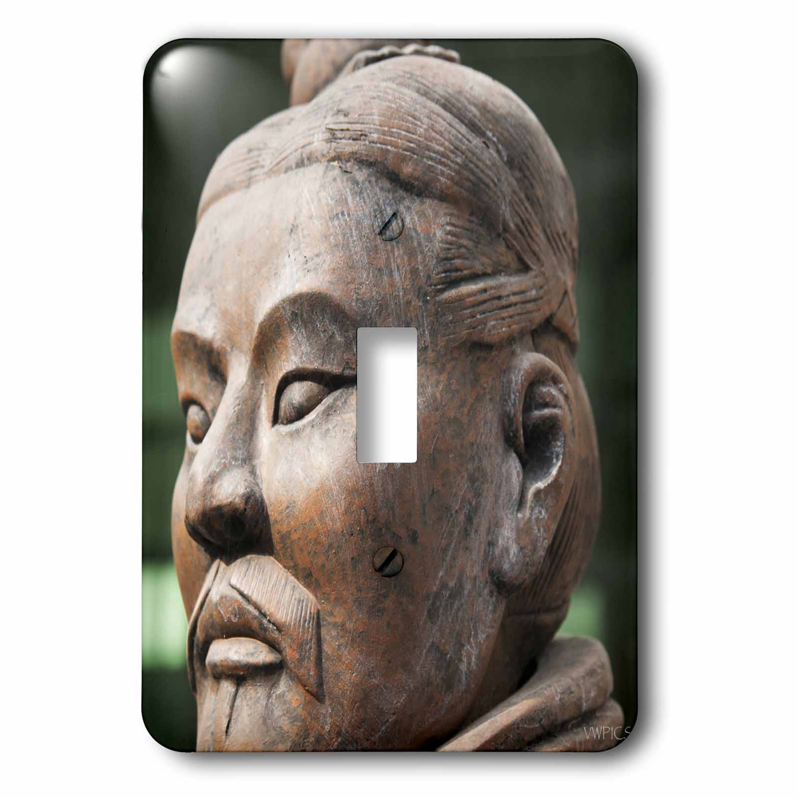 3dRose Life-size model of a terracotta warrior for sale, Xian, Shaanxi Province, China, 2 Plug Outlet Cover