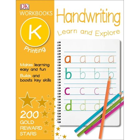 DK Workbooks: Handwriting: Printing, Kindergarten : Learn and (Use But In A Sentence For Kindergarten)