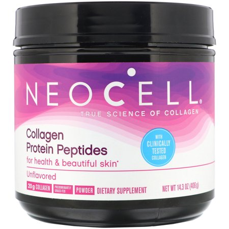 Neocell, Collagen Protein Peptides, Unflavored, 14.3 oz (406 g)