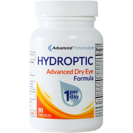 HYDROPTIC Dry Eye Formula (90 Capsules) One-Per-Day Day Womens Advanced Formula