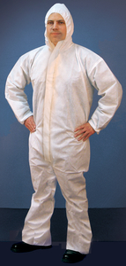 Buffalo Industries 68254 Large Microporous Coveralls by Buffalo Industries