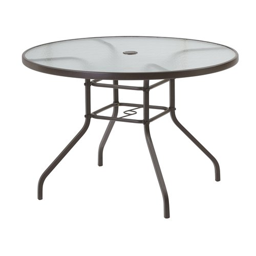 "Mainstays 42"" Round Glass Dining Table, Brown  Walmartm. 2 Inch Center To Center Drawer Pulls. Red And Black Table. Real Wood Office Desk. Stanford Housing Front Desk. Tablecloth For 60 Inch Round Table. Restaurant Table Legs. Poker Card Table. Monarch Specialties Desk"