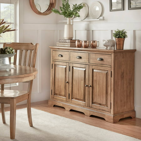 Weston Home kitchen storage cabinet buffet server, Multiple Finishes