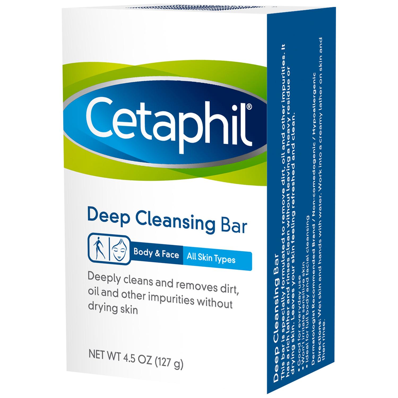 Cetaphil® Deep Cleansing Bar 4.5 oz. Box