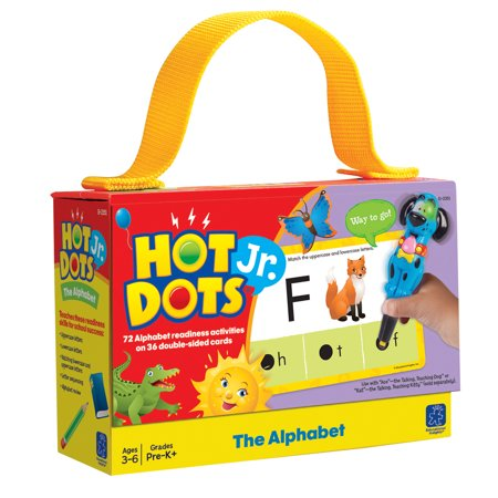 Hot Dots Jr. The Alphabet Card Set, Set of 72