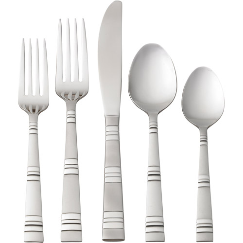Better Homes and Gardens 20-Piece Hastings Flatware Set