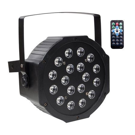 Par Lights with RGB 18LEDs Wash Lighting 18W Remote and DMX Control for  Wedding Church Stage Lighting | Walmart Canada