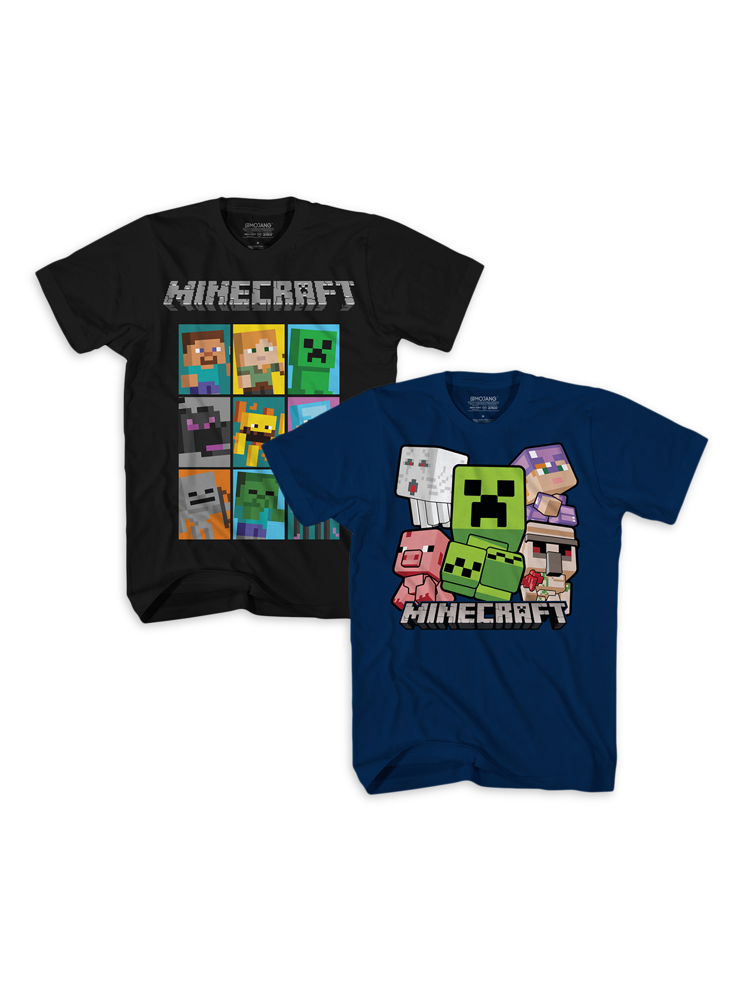 MINECRAFT CREEPER T-Shirt Girl/'s Youth Size S Small 6-6x NEW Mojang JINX