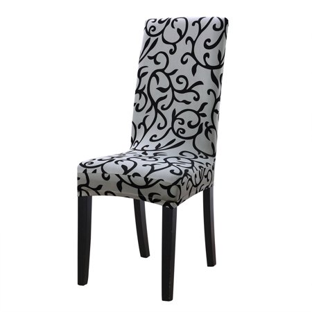 Remarkable Piccocasa Stretch Spandex Dining Chair Slipcover Set Of 6 Uwap Interior Chair Design Uwaporg